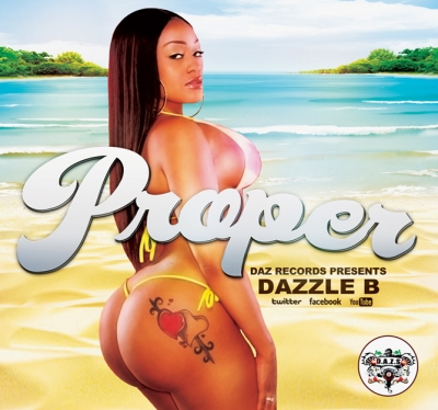 Dazzle B loves the ladies Proper